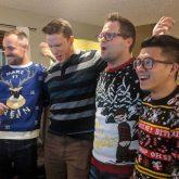 Christmas Team karaoke