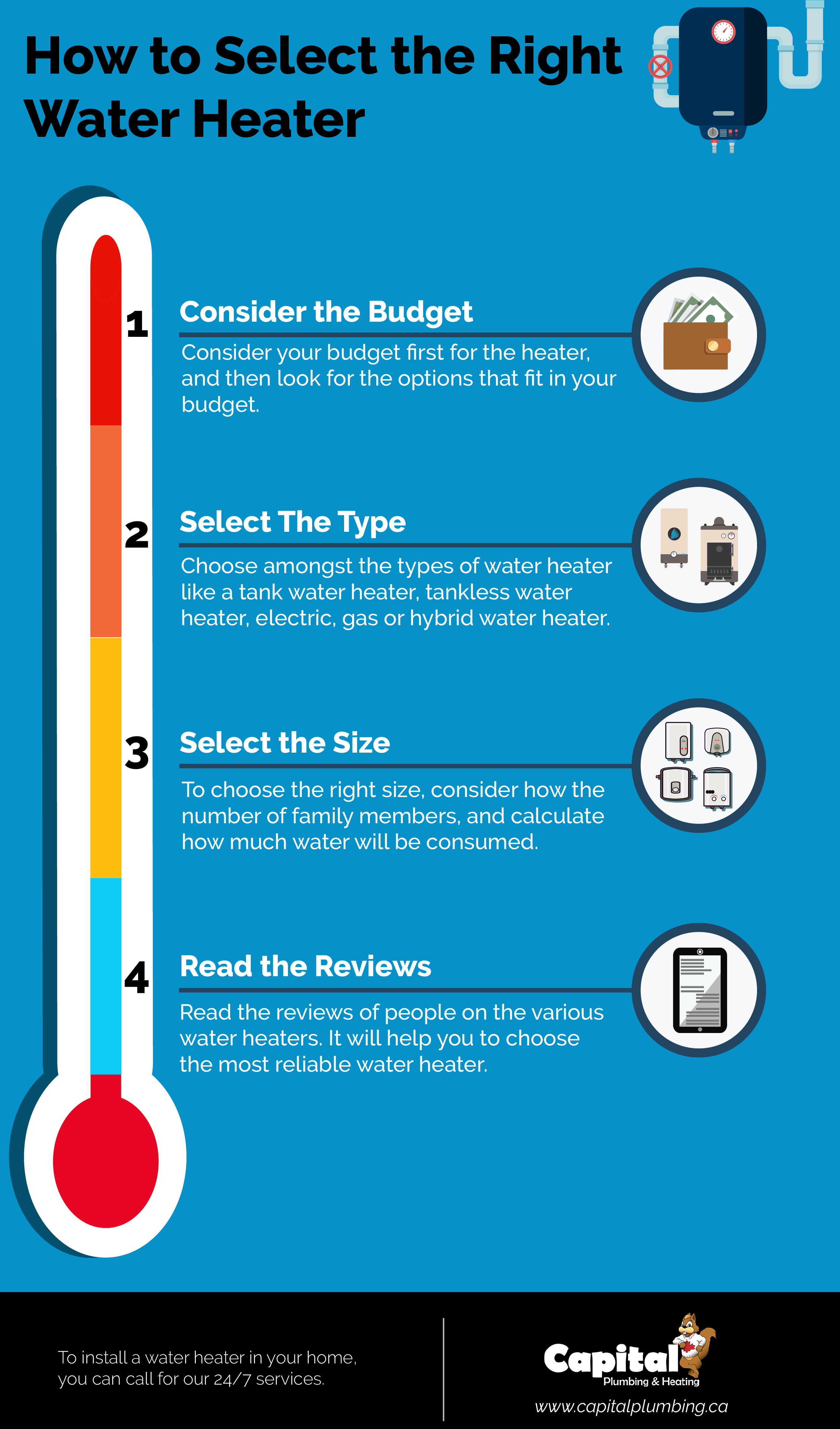 Select The Right Water Heater