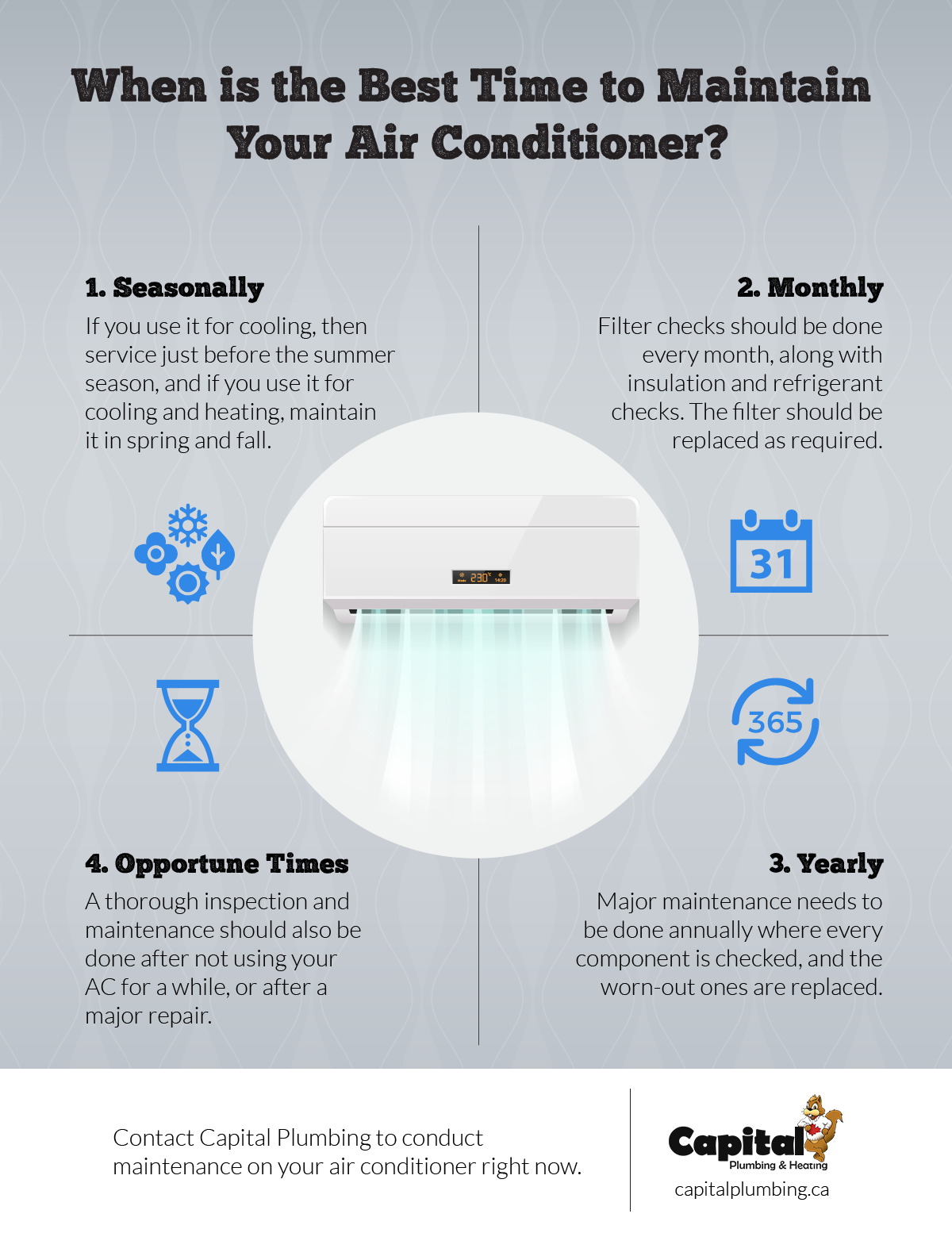 Best Time to Maintain Your Air Conditioner
