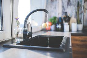 water tap leak